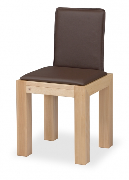 LIBRA CHAIR with upholstered seat