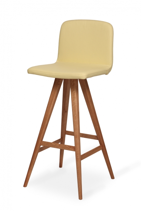 GATTA BAR STOOL wholly upholstered