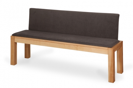 LIBRA BENCH wholly upholstered bench