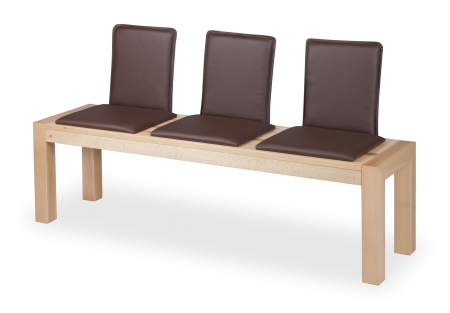 LIBRA BENCH with individual backrests