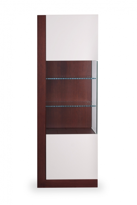 EDITA glass cabinet