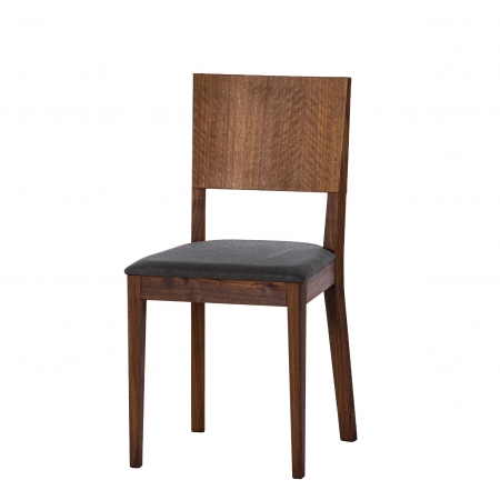 EDITA CHAIR with upholstered seat