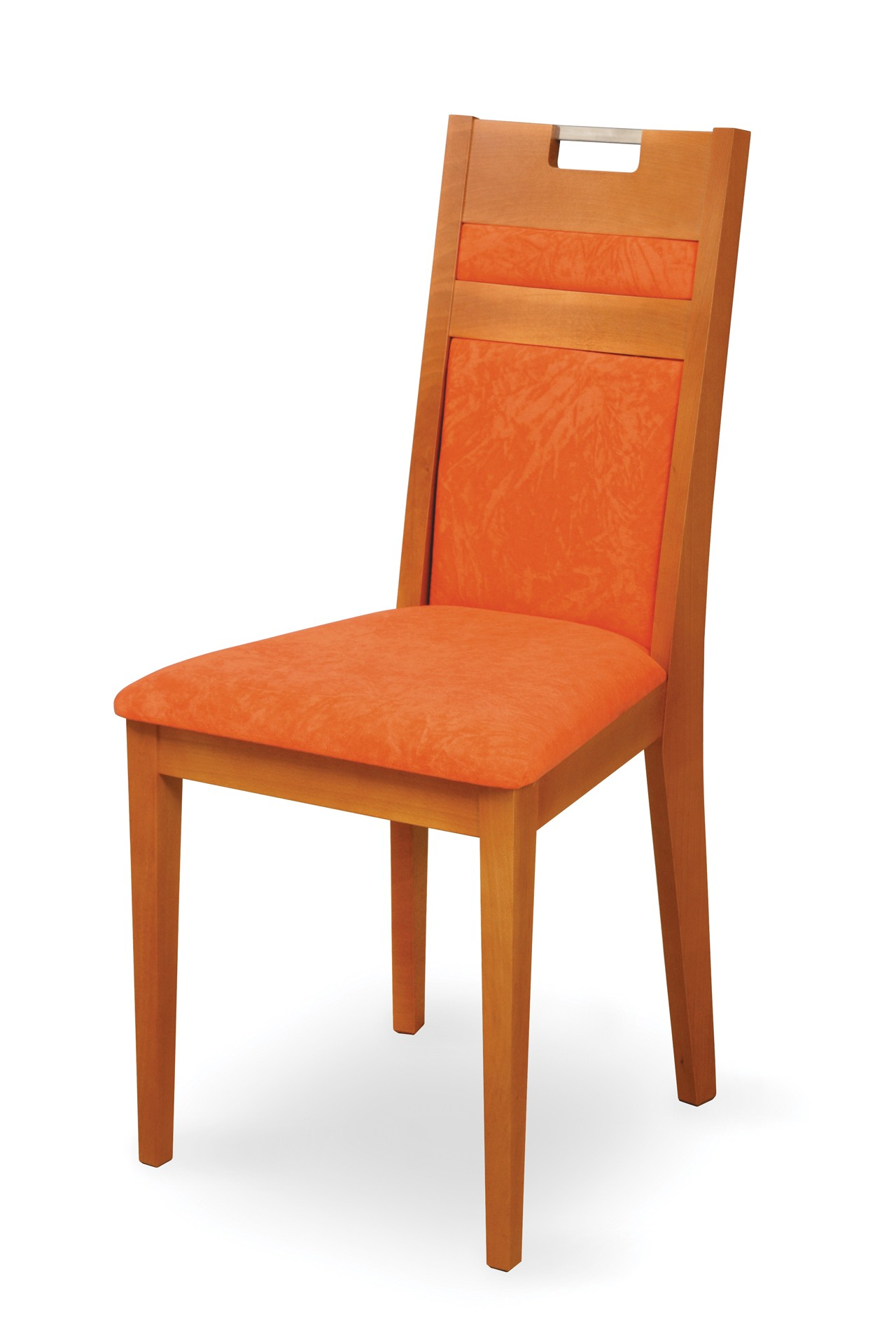 VENGE CHAIR wholly upholstered with handle