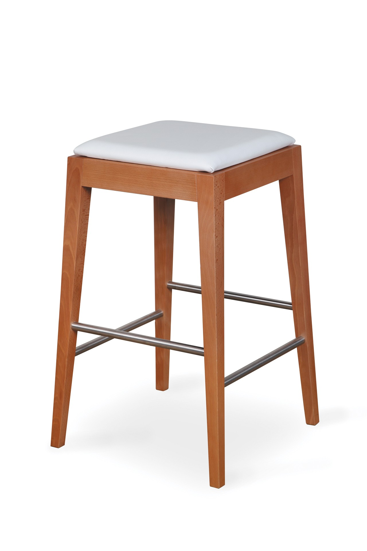 VENGE BAR STOOL with upholstered seat I