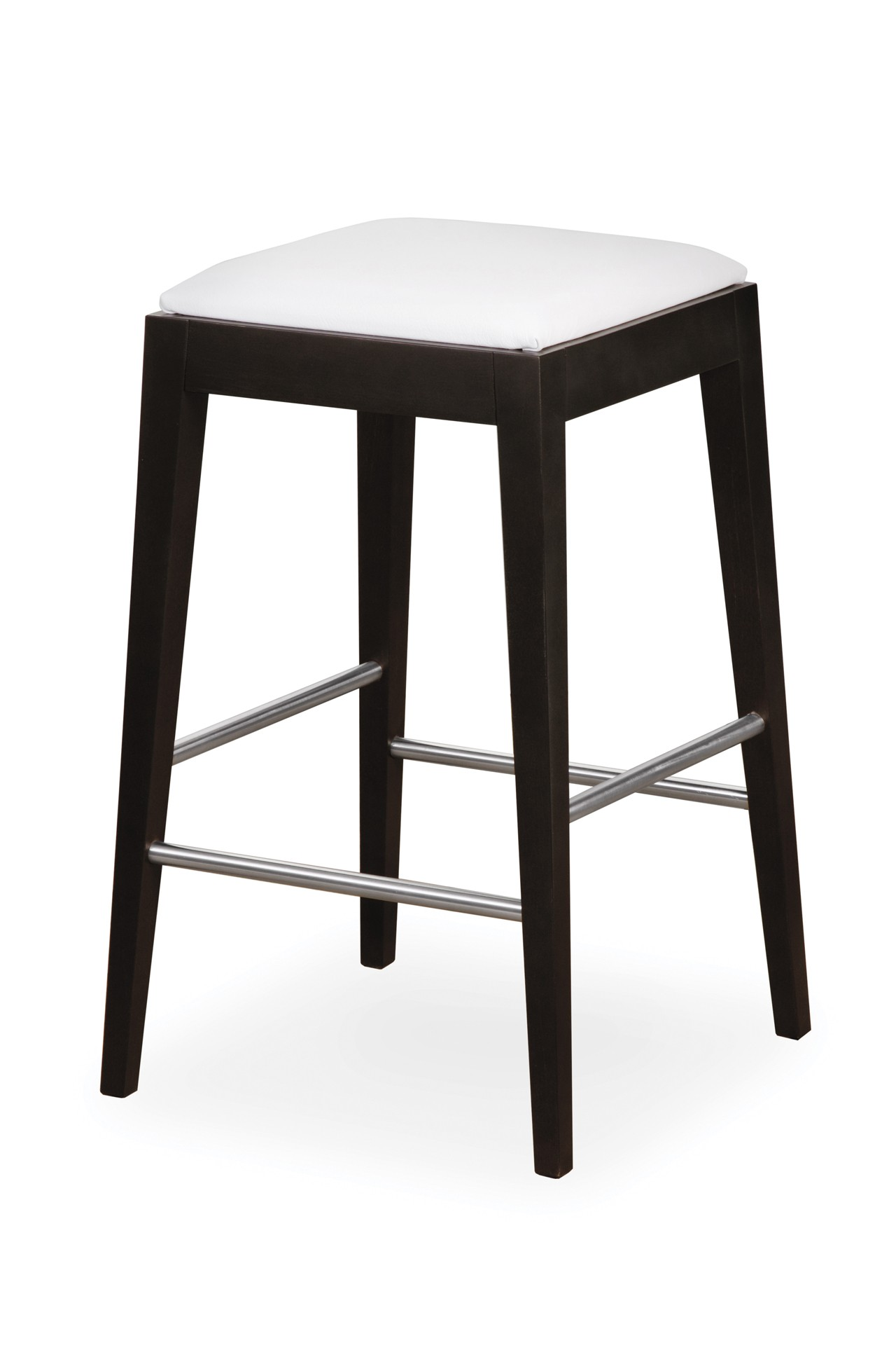 VENGE bar stool with upholstered seat II