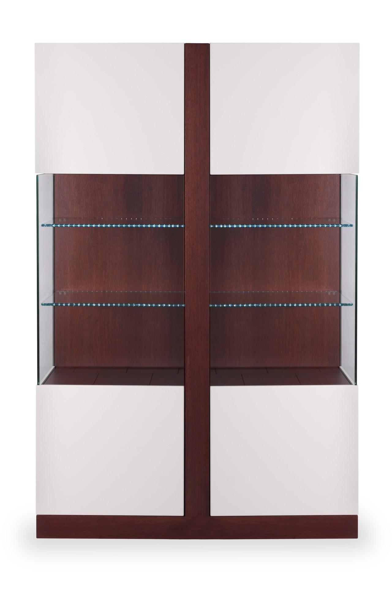 EDITA TWINS glass cabinet