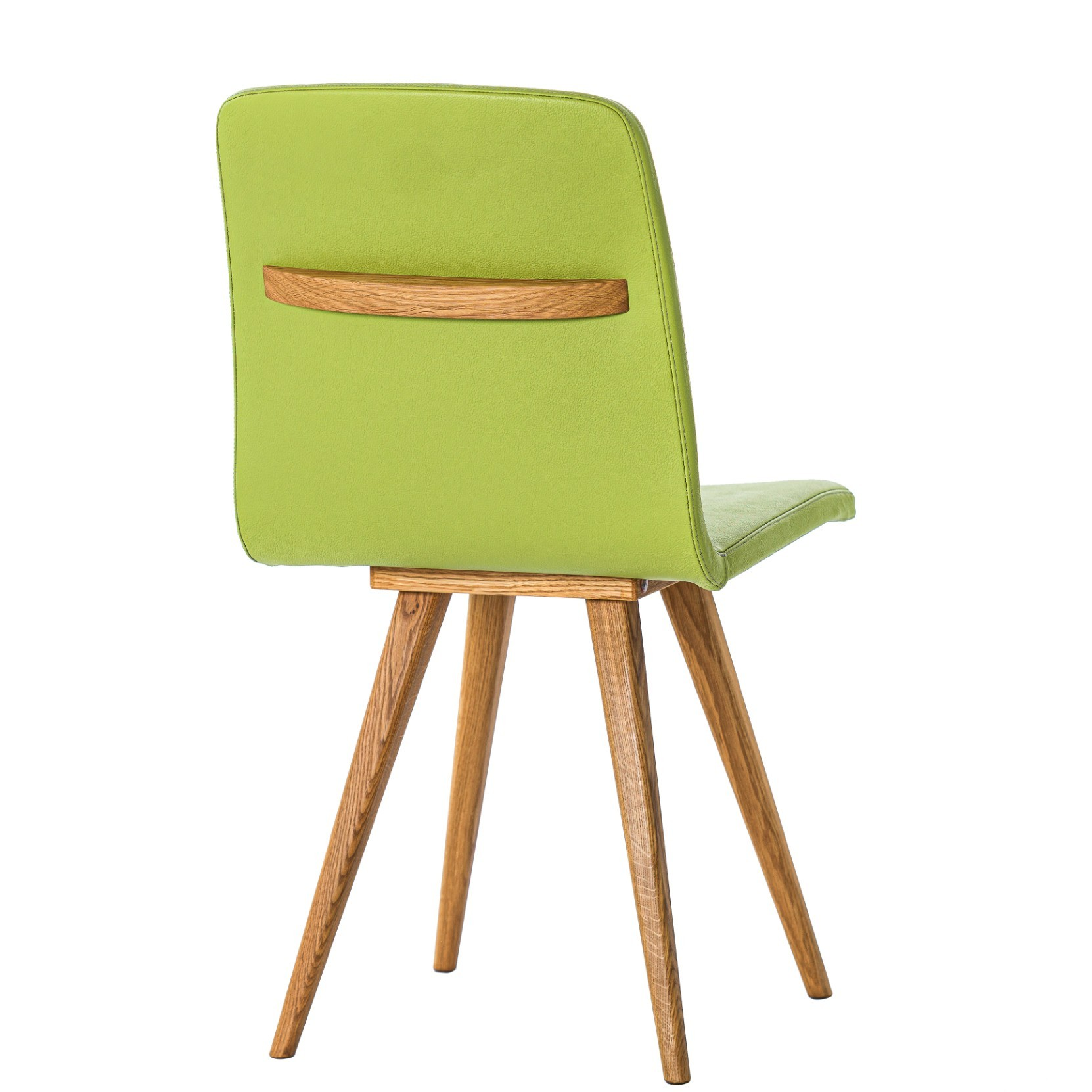 GATTA CHAIR wholly upholstered with handle
