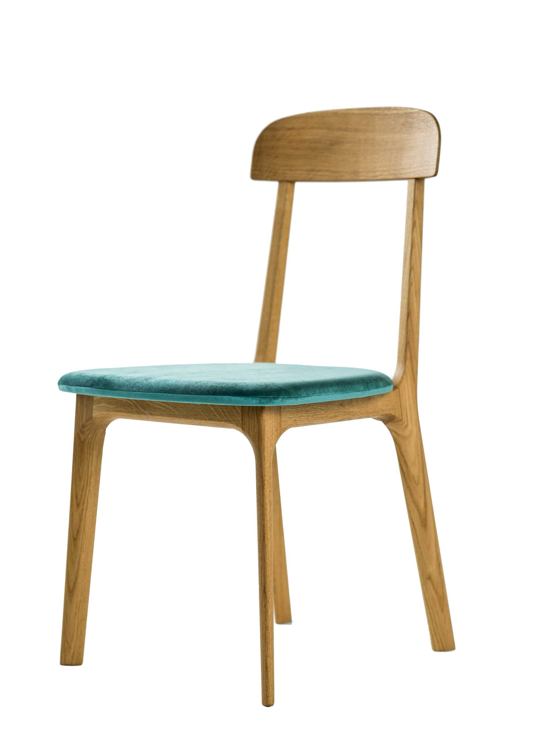 ELICA CHAIR WITH UPHOLSTERED SEAT