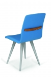 GATTA BIANCA CHAIR wholly upholstered with handle