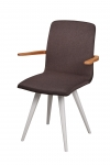 GATTA BIANCA ARMCHAIR wholly upholstered