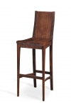 ARCA BAR STOOL WHOLLY WOODEN