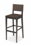 EDITA BAR STOOL WHOLLY WOODEN