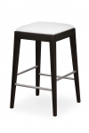 VENGE bar stool with upholstered seat II