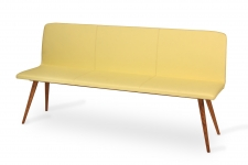 GATTA bench wholly upholstered