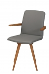 GATTA VORTA ARMCHAIR WHOLLY UPHOLSTERED