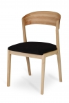 ANCORA CHAIR WITH UPHOLSTERED SEAT