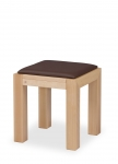 LIBRA STOOL with upholstered seat