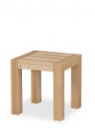 LIBRA STOOL with solid wood seat